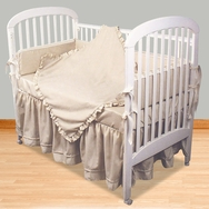 Ecru Crib Bedding Collection by Hoohobbers