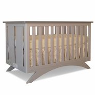Eden Baby Madison Convertible Crib in Seal gray