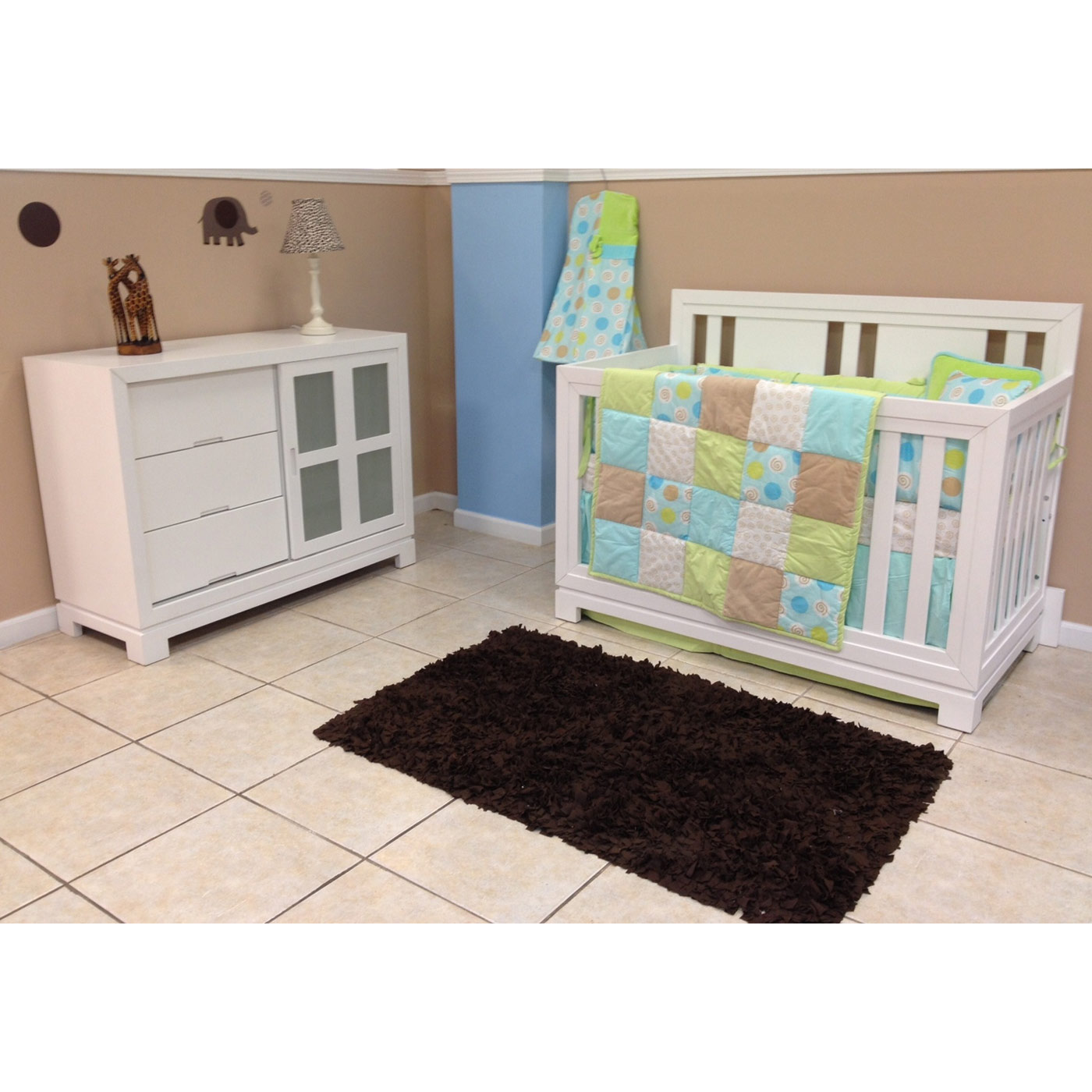 eden baby melody  in  convertible crib in white free shipping -