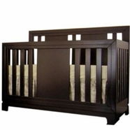 Eden Baby Melody Convertible Crib in Espresso