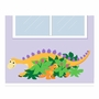 Elephants on the Wall Dinosaurs Hide 'n Seek-a-saurus Paint by Number Wall Murals