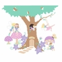 Elephants on the Wall Fairy Wonderland Enchanted Tree House Paint by Number Wall Murals