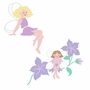 Elephants on the Wall Fairy Wonderland Vine Fairies Paint by Number Wall Murals