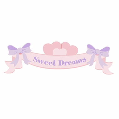 Elephants on the Wall  Sweet Dreams Banner Paint by Number Wall Murals