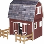 Finished Ruff 'N Rustic Barn by Real Good Toys