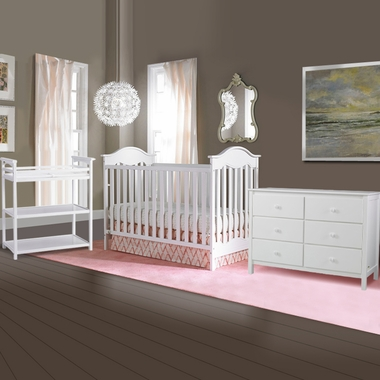 Fisher Price 3 Piece Nursery Set Charlotte Traditional