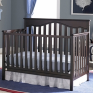 Fisher Price Ayden 4 in 1 Convertible Crib in Espresso