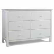 Fisher Price Collection Double Dresser in Snow White