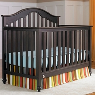 Fisher Price Kingsport 5 in 1 Convertible Crib in Espresso