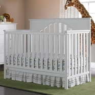 Fisher Price Lansdale 4 in 1 Convertible Crib in Snow White