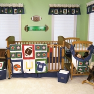 Football Crib Bedding Collection