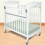 Foundations Biltmore SafeReach Compact Clearview Crib in White