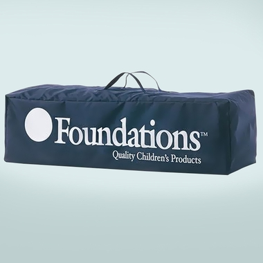 Foundations Celebrity Portable Crib Carry Bag in Blue