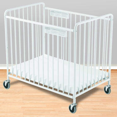 Foundations Chelsea Compact Steel Non Folding Crib With