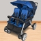 Foundations Quad LX 4-Passenger Stroller Regatta in Regatta Blue
