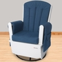 Foundations SafeRocker SS Glider Rocker Standard Glide in White/Blue