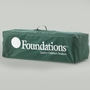 Foundations Ultra Portable Crib Carry Bag in Green