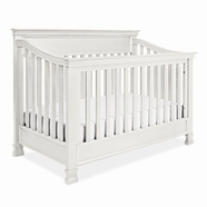 Franklin & Ben Foot Hill Crib in Dove White