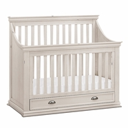 Franklin & Ben Mason Convertible Crib in Distressed White