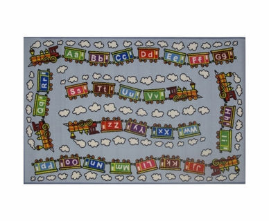"Fun Rugs Edu Train Rug  39"" x 58"""