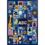 """Fun Rugs Letters & Names Rug 39"""" x 58"""""""