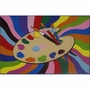 """Fun Rugs Painting Time Rug 19"""" x 29"""""""