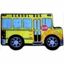 "Fun Rugs School Bus High Pile Rug 31"" x 47"""