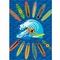 "Fun Rugs Surfer Dude Rug  39"" x 58"""
