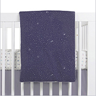 Galaxy Crib Bedding Collection by Babyletto