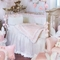 Glenna Jean Anastasia 4 Piece Crib Bedding Set