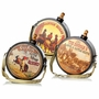 Glenna Jean Carson Western Canteens Decorations - Set Of 3