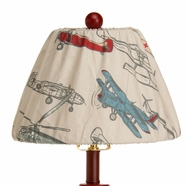 Glenna Jean Fly By Airplane Lamp Shade
