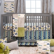 Uptown Traffic Bedding Collection by Glenna Jean