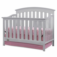 Graco Arlington Convertible Crib in Pebble Gray