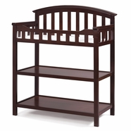 Good Graco Cribs Changing Table In Cherry