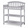 Graco Cribs Changing Table in Pebble Gray