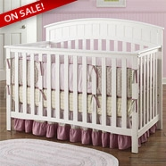 Graco Charleston 4 in 1 Convertible Crib in White