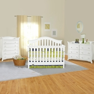 Graco Cribs Bryson 3 Piece Nursery Set Convertible Crib Avalon 5 Drawer And 6
