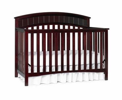 Graco Cribs Charleston 4 in 1 Convertible Crib in Cherry