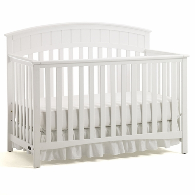 Graco Cribs Charleston 4 In 1 Convertible Crib White Click To Enlarge