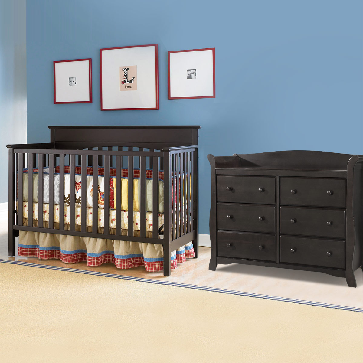 Graco Cribs Lauren 2 Piece Nursery Set