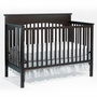 Graco Cribs Lauren 4 in 1 Convertible Crib in Espresso