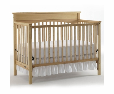 Graco Cribs Lauren 4 in 1 Convertible Crib in Natural