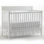 Graco Cribs Lauren 4 in 1 Convertible Crib in White