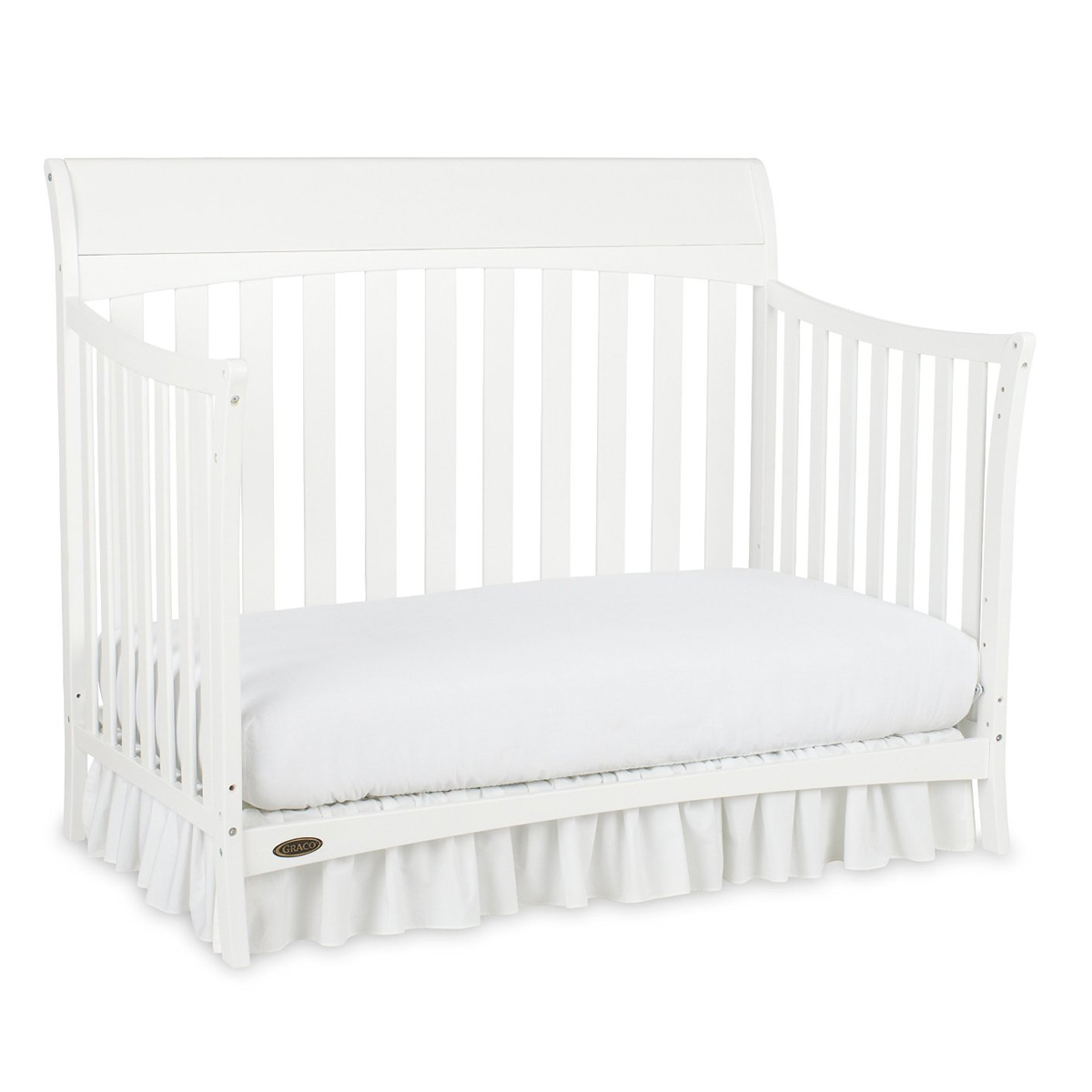 Graco Rory 4in1 Convertible Crib in White FREE SHIPPING