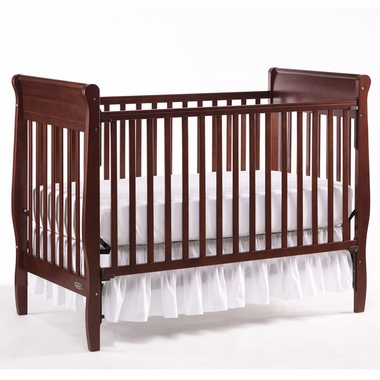 Graco Sarah 4 In 1 Convertible Crib In Cherry Free Shipping