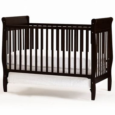 Graco Cribs Sarah 4 In 1 Convertible Crib In Espresso   Click To Enlarge