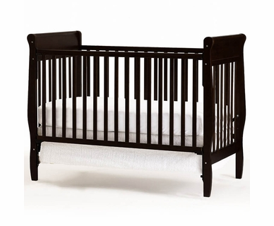 Graco Cribs Sarah 4 in 1 Convertible Crib in Espresso