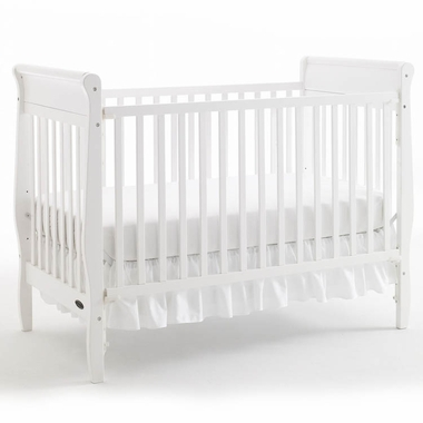 Graco Sarah 4 In 1 Convertible Crib In White Free Shipping