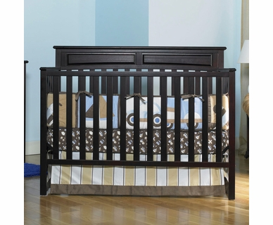 Graco Cribs Somerset Convertible Crib in Espresso